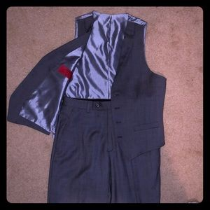 Alfani slim fit vest and slacks